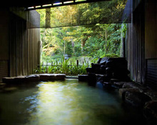 岩の露天風呂