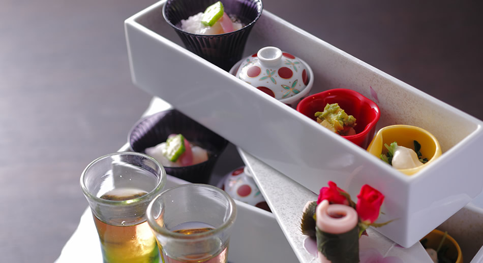 湯宿・草菴 料理